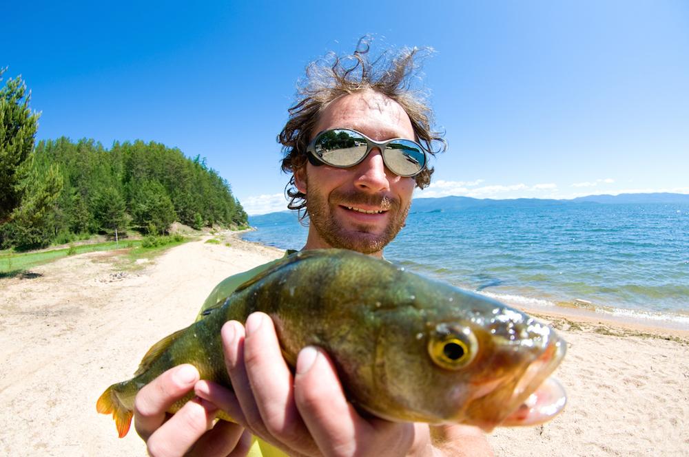 Подлёдная рыбалка видео
